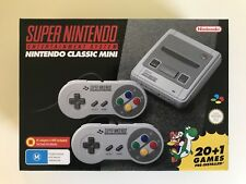 SUPER NINTENDO CLASSIC SNES MINI CONSOLE EDITION BRAND NEW IN BOX *AUS STOCK*