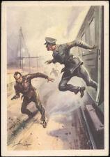 cartolina militare atti eroici GUARDIE PUBB.SICUREZZA MENCI DINO pisani