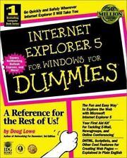 Internet Explorer 5 for Windows? For Dummies? (For Dummies Series), Lowe, Doug,