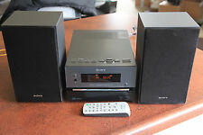 Sony CMT-BX1 micro hifi system cd player speakers and remote stereo
