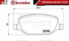 Brembo origine premium patins de frein pad set essieu arrière P23109