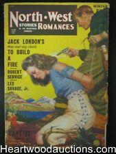 North-West Romances Winter 1947 Classic George Gross Bondage Cover, Jack London