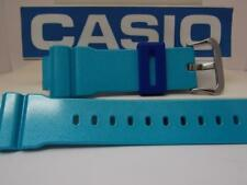 Casio Watch Band DW-6900 CB-2V Blue Glossy Strap G-Shock Original Watchband