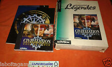 CIVILIZATION CALL TO POWER BIG BOX COMLET PC CD-ROM