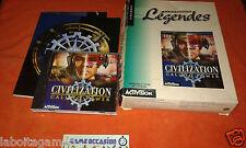 CIVILIZATION CALL TO POWER BIG BOX COMLET PC CD-ROM