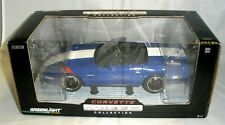 1:24 GREENLIGHT 1996 CHEVY CORVETTE GS GRAND SPORT CONVERTIBLE BLUE NIB