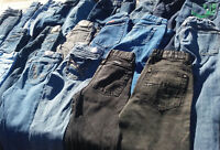 Boys /& Girls 50 Pairs Blue Kids Jeans Bulk Sale Many Brands Mixed Lots /& Sizes
