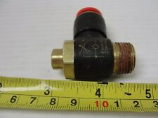 Nycoil Flow Control, Meter Out, 82166, 3/8 Tube, 3/8 Thread, 1 1/8 H, 1 5/16 L.