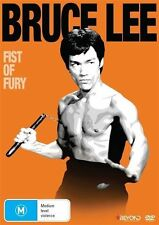 BRUCE LEE: Fist Of Fury DVD Movie BRAND NEW Martial Arts TOP 1000 MOVIES R4