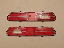 NEW PERFECT NOS Tail Light Lens Pair for 1972 - 1977 Mercury Comet - LH RH