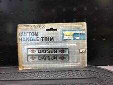 NO.1406 Rally Custom HandleTrim Datsun NOS Vintage B13