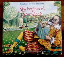 NEW Shakespeare's Storybook 2 CD set- narrated by Patrick Ryan FREE SHIPPING