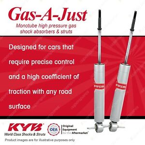 2 x Front KYB Gas-A-Just Shock Absorbers for Chevrolet Bel Air Corvette C2 C3