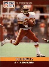 1990 Pro Set #661 Todd Bowles RC