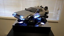 Custom Floating Hovering Diamond Select 1/15 Back to the Future II DeLorean!!!