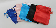 Silk Drawstring Pouch / Gift Bag / Spell Bag - assorted colours - 9cm x 6cm