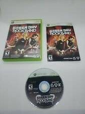 Green Day: Rock Band (Microsoft Xbox 360, 2010) complete game