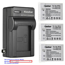 Kastar Battery AC Travel Charger for Canon NB-5L 5L Digital IXUS 90 IS IXUS 90IS