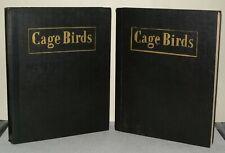 Cage Birds And Bird Fancy Magazines - 1952  - Bound.