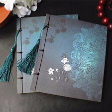1X Chinois Style Carnet Cahier Bloc Feuille Papier Agenda Journal Notebook Neuf
