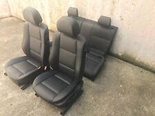 inkl. Umbau BMW E46 Compact schwarz Lederausstattung Sitze Leder Ausstattung