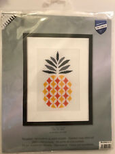 Vervaco PINEAPPLE Cross Stitch Kit - NIB