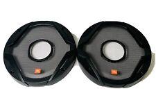 """JBL 6.75"""" Mesh Speaker Grill Covers 1 Pair Black Speakers"""