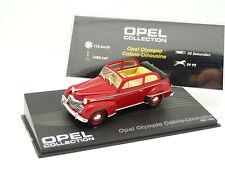 Ixo Presse 1/43 - Opel Olympia Cabrio Limousine 1951