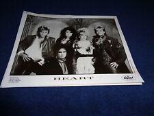 Heart Capitol Records 1985 Capitol Records Promo Press Photo