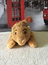 Rare Disney Store Vintage LION KING Baby SIMBA Cubs, Canasa Soft Plush Toys