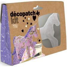 Avenue Mandarine Decopatch Mini Horses Kit - Kids Art Decoupage Kit