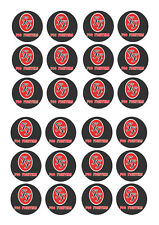 24 FOO FIGHTERS BIRTHDAY CUPCAKE TOPPER WAFER RICE EDIBLE FAIRY CAKE BUN TOPPERS