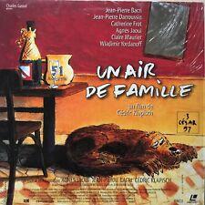 AIR DE FAMILLE (UN) WS VF PAL LASERDISC Jean-Pierre Bacri,Jean-Pierre Darroussin