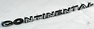 1966-67 LINCOLN FRONT HEADER LETTER SET OF 11 CHROME & PAINTED NEW REPRO