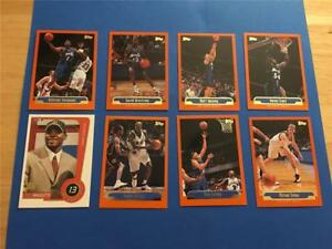 1999/00 Topps Orlando Magic Team Set 8 Cards with Rookie SP
