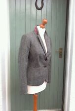 Boden Abraham Moon Herringbone Tweed Equestrian/Riding Jacket / Blazer Size 8