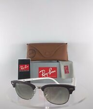 Brand New Authentic Ray Ban RB2156 1010/32 Sunglasses Purple White Frame 2156