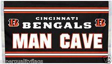 Cincinnati Bengals Man Cave Flag New 3x5 ft