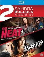 The Heat/Speed (Blu-ray Disc, 2014, 2-Disc Set) Sandra Bullockl!
