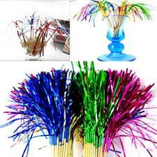 40PCS Funkeln Cocktail-Tipps Fruchtstäbchen Getränke Dekoration Feuerwerk