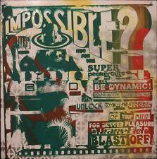 Black dice el señor imposible UK Vinilo LP en no sería Seda apantallado Manga + MP3 Nuevo