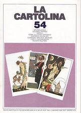 LA CARTOLINA N.54 - Rivista 1992 - Brunelleschi Eritrea Arfelli Garibaldi