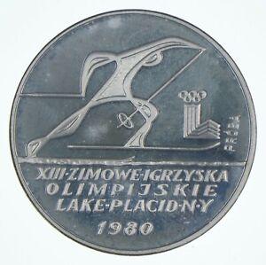 SILVER - WORLD Coin - 1980 Poland 200 Zlotych - World Silver Coin *696