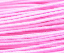 81ft Pink 1mm Round Elastic Cord Beading & Crafts Shock Cord (3x9yds)