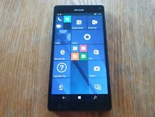 "Microsoft Lumia 950XL 5.7"" Windows 10 Phone Black 32GB Unlocked Smartphone 20MP"