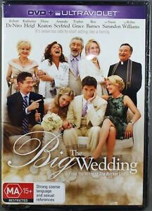 "THE BIG WEDDING (DVD: 2013) BRAND NEW / SEALED ""REGION 4"""