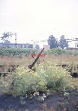 PHOTO  NUNEATON MPD AUGUST 1968 A ROW OR REDUNDANT POINT LEVERS AT THE THROAT TO