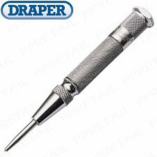 DRAPER EXPERT QUALITY AUTOMATIC CENTRE PUNCH Heavy Duty Spring Loaded Auto