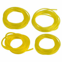 Yellow 4 Sizes 4ft Fuel Line Hose Gas Pipe Tubing For Trimmer Chainsaw Blower