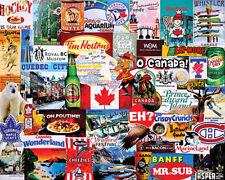 I Love Canada 1000 piece jigsaw puzzle   760mm x 610mm   (wmp)